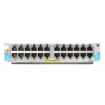 HP Enterprise 24-port 10/100/1000BASE-T PoE+ MACsec v3 zl2 Module Netzwerk-Switch-Modul Gigabit Ethernet