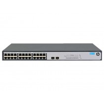 HP Enterprise 1420-24G-2SFP Unmanaged L2 Gigabit Ethernet (10/100/1000) Grau 1U