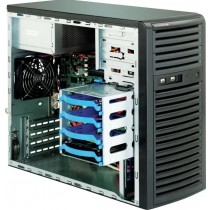 Supermicro SC731 i-300B - Midi Tower - Mikro-ATX