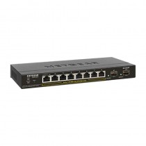 Netgear GS310TP Managed L2 Gigabit Ethernet (10/100/1000) Schwarz Power over Ethernet (PoE)