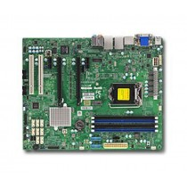 Supermicro X11SAE-F Server-/Workstation-Motherboard LGA 1151 (Buchse H4) Intel® C236 ATX
