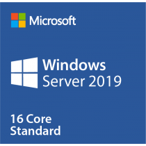 Microsoft Windows Server 2019 Standard – 16 Kerne OEM