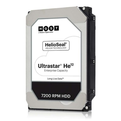 HGST Ultrastar He12 12TB SAS 512e ISE - Festplatte - Serial Attached SCSI (SAS)