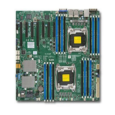 Supermicro X10DRH-ILN4 Server-/Workstation-Motherboard LGA 2011 (Socket R) Intel® C612 Erweitertes ATX
