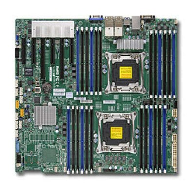 Supermicro X10DRi-T4+ Server-/Workstation-Motherboard LGA 2011 (Socket R) Intel® C612 Erweitertes ATX
