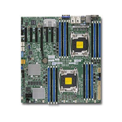 Supermicro MBD-X10DRH-CT-B Server-/Workstation-Motherboard LGA 2011 (Socket R) Intel® C612 ATX
