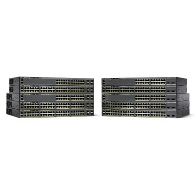 Cisco Small Business WS-C2960X-48LPS-L Netzwerk-Switch Managed L2/L3 Gigabit Ethernet (10/100/1000) Schwarz 1U Power over Ethernet (PoE)