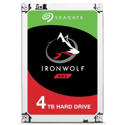 Seagate IronWolf ST4000VN008 Interne Festplatte 3.5 Zoll 4000 GB Serial ATA III