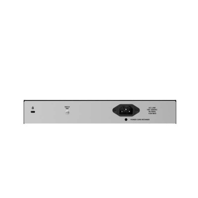 D-Link DES-1018MP - Unmanaged - Fast Ethernet (10/100) - Power over Ethernet (PoE) - Rack-Einbau